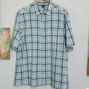 Men's Plaid Shirt from George Size 2XL